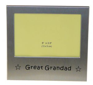 Great Grandad Photo Picture Frame Gift 5 x 3.5